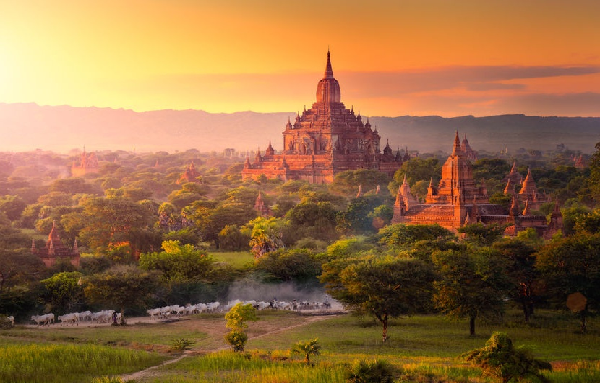 Город тысячи храмов – Паган