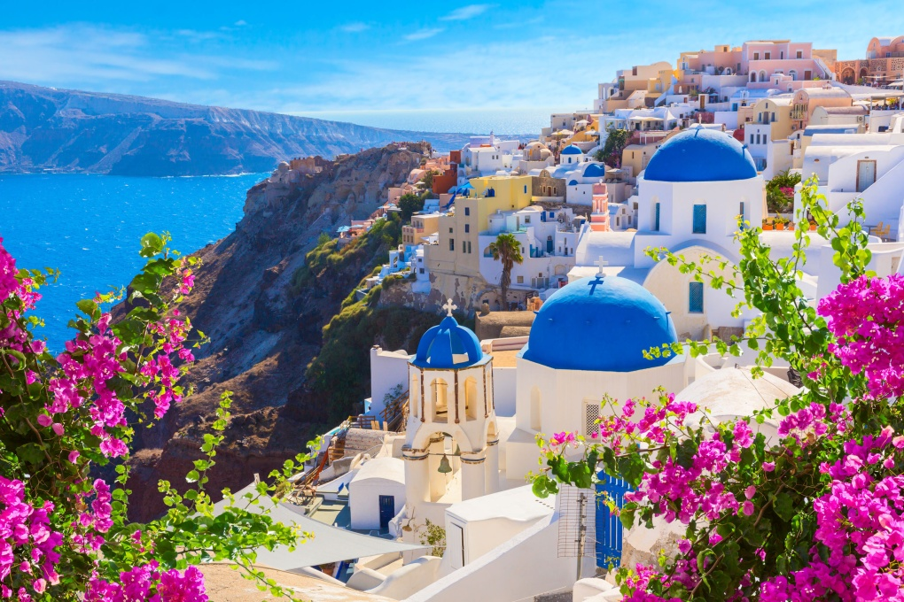 Вокруг света: остров Санторини, Греция