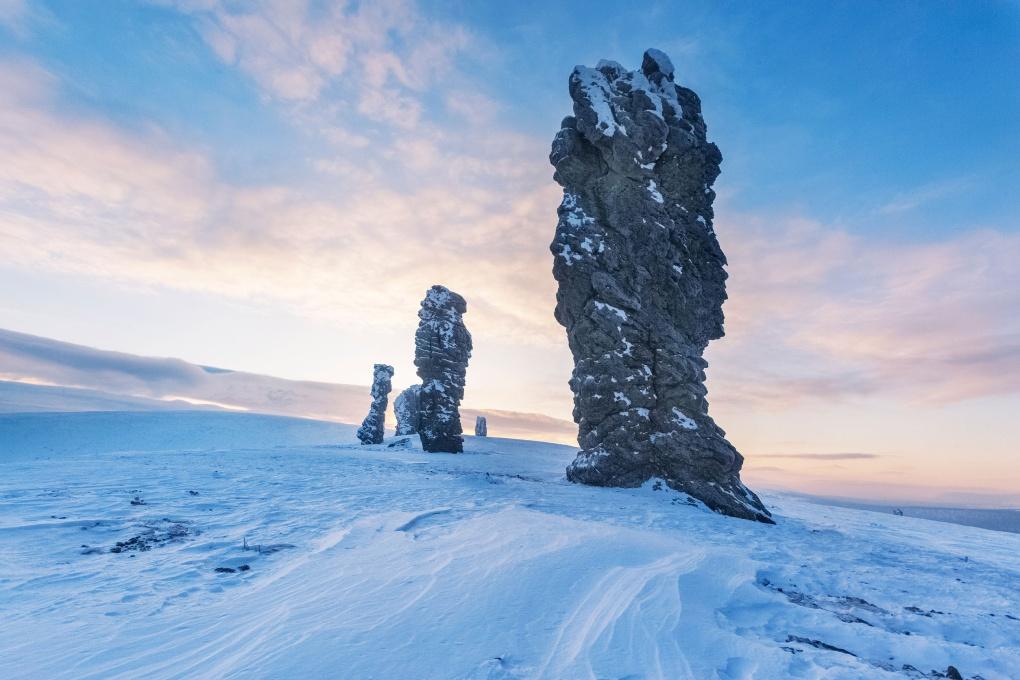 Чудеса России: столбы выветривания Маньпупунер